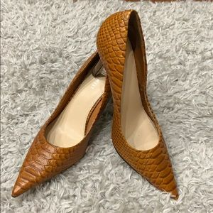 Nine West crocodile heels